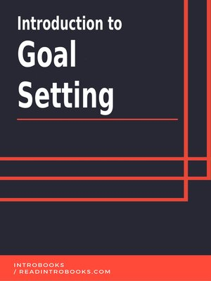 cover image of Introduction to Goal Setting